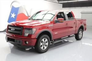 2013 Ford F-150 FX4 CREW 4X4 ECOBOOST SUNROOF NAV