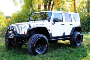 2012 Jeep Wrangler 2012 Jeep Wrangler Unlimited Altitude Edition 4WD