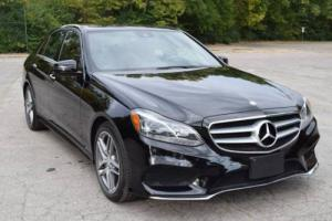 2014 Mercedes-Benz E-Class E350 Sport 4MATIC AWD 4dr Sedan Sedan 4-Door