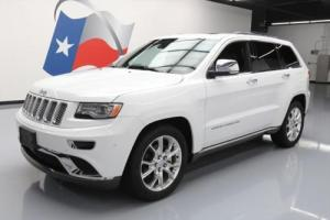 2014 Jeep Grand Cherokee SUMMIT PANO ROOF NAV 20'S