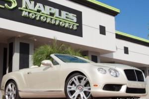 2013 Bentley Continental GT GTC