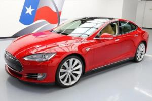 "2013 Tesla Model S TECH PANO ROOF NAV 21"" WHEELS"