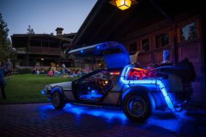 1981 DeLorean BACK TO THE FUTURE Photo