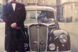 1950 WOLSELEY 6/80 POLICE RADIO CAR REPLICA WITH FILM AND TV HISTORY
