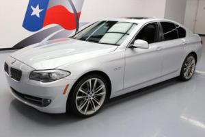 2013 BMW 5-Series 535I TURBO HTD LEATHER SUNROOF NAV 20'S