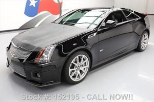 2013 Cadillac CTS -V COUPE SUPERCHARGED NAV REAR CAM
