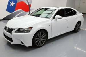 2014 Lexus GS F-SPORT SUNROOF NAV REAR CAM