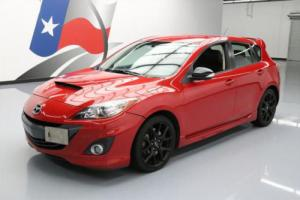 2013 Mazda Mazda3 SPEED3 TOURING HATCHBACK 6SPD TURBO