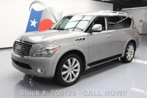 2013 Infiniti QX56 DELUXE TOURING TECH SUNROOF NAV DVD!