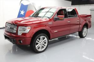 2013 Ford F-150 LTD CREW ECOBOOST 4X4 SUNROOF NAV