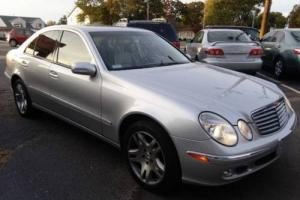 2003 Mercedes-Benz E-Class E500 4dr Sedan Sedan 4-Door Automatic 5-Speed