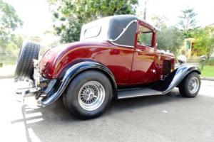 1932 Ford Sports Coupe Hot Rod - Multiple award winner
