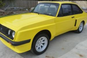 "Unique 1979 Ford Escort RS2000 X Pack coupe 15"" Minilites 2 litre 4 spd Cortina for Sale"