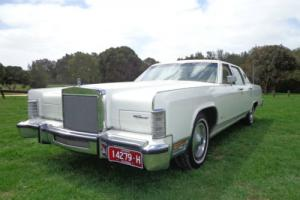1979 Ford Lincoln Town Car V8 Auto