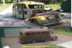 1946 Studebaker Short school bus. Very cool bus suit Ford Chevy F1 F100 rat rod Photo