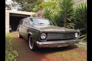 1967 VC Chrysler Valiant Safari 225 Slant6 BW35 Auto, PROJECT