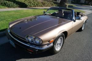 1989 Jaguar XJS V12 CONVERTIBLE WITH 8K ORIGINAL MILES!