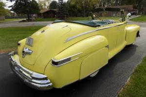 1948 Lincoln Continental Convertible Coupe 876H76