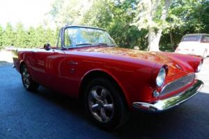 1964 Sunbeam Alpine Series 3 Like Tiger Photo