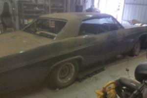 1966 4 door pillarless Chevy impala unfinished project
