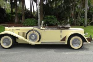 1931 Other Makes auburn boat tail speedster replica kit replica