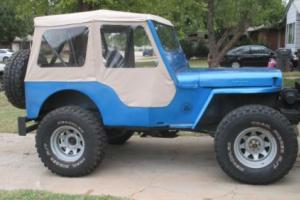 1951 Willys CJ3A