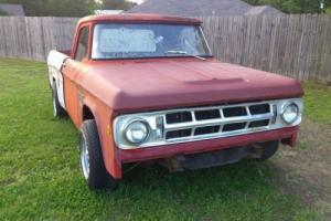 1967 Dodge Other Pickups Mopar D100