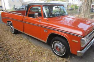 1970 Dodge Other Pickups Sweptline