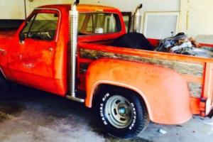 1979 Dodge Other Pickups LIL RED EXPRESS