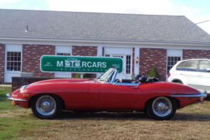 1970 Jaguar E-Type 1970 Jaguar-E-Type-SII-Roadster-XKE-OTS-Series II-