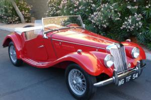 1954 MG T-Series Stunning Frame Off Restoration MG TF