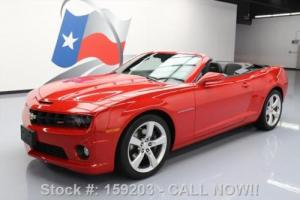 2011 Chevrolet Camaro 2SS CONVERTIBLE RS HTD SEATS HUD