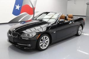 2011 BMW 3-Series 328I CONVERTIBLE HARD TOP PREM HTD LEATHER