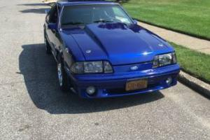 1991 Ford Mustang blue