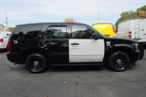 2012 Chevrolet Tahoe Police PPV 1 Town Owner SUV Low Miles NO RESERVE