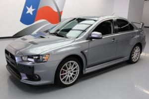 2014 Mitsubishi Lancer EVO GSR AWD 5-SPEED RECARO