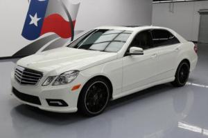2011 Mercedes-Benz E-Class E550ATIC SPORT AWD P2 SUNROOF NAV Photo