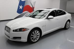 2013 Jaguar XF 2.0T LEATHER SUNROOF NAV XENONS
