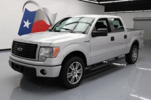 2014 Ford F-150 STX SPORT CREW 5.0 SIDE STEPS 20'S