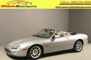 2001 Jaguar XKR 2001 SUPERCHARGED NAV LEATHER ALPINE CONVERTIBLE