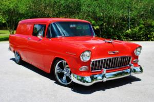 1955 Chevrolet Bel Air/150/210 Sedan Delivery Streetrod Nut & Bolt Restoration!