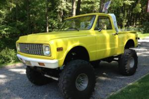 1972 Chevrolet C-10 72 C 10 STEP SIDE LIFTED 4X4 4WD TRUCK PICK UP NR