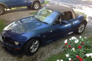 2001 BMW Z3 2.5 soft top convertible
