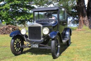 FORD MODEL T -1926 TUDOR - ARE YOU READY TO TOUR IN A 90 YEAR OLD CLOSED CAR?
