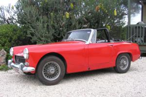 classic MG sports car