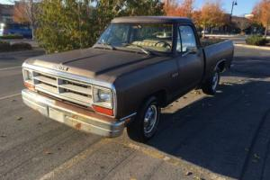 1989 Dodge Other Pickups D150 SHORT BED SWEPTLINE