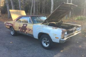 1969 Dodge Coronet 1969 DODGE CORONET 500 ROLLING PROJECT NR B BODY Photo