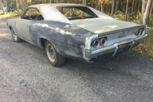1968 Dodge Charger 1968 DODGE CHARGER RUST FREE PROJECT # MATCHING NR