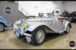 1954 MG T-Series TF; Excellent Condition, Same Owner Since 1969