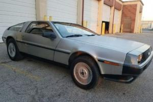 1981 DeLorean DMC -12 DMC-12